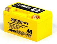 MBTX7ABS Motobatt AGM Motorcycle Battery 12v  7Ah 105CCA (YTX7A-BS, ETX7A-BS) Buy Online from The Battery Shop